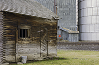 Tom Glassman, Rail Yard Vista, photography, 16x20, $225