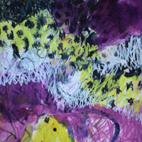 Lynda Hoffman-Snodgrass, Nature Retreat 4, mixed media, 20x16, $425