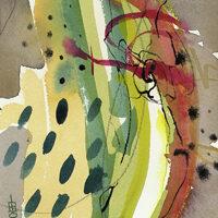 Lynda Hoffman-Snodgrass, Expressions #2-5, watercolor, 12x12, $195