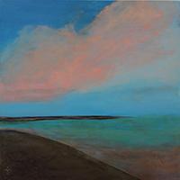 Carolyn Patten, A Little Slice of Heaven, acrylic, 16x20, $275