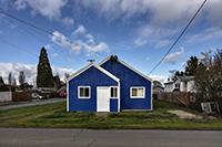 Michael Schnee, Blue House, photography, 8x12, $150